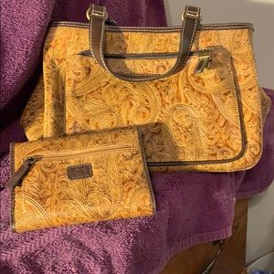 Relic Handbag with Matching Wallet